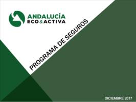 PROGRAMAS DE SEGUROS ANDALUCÍA ECOACTIVA