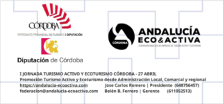 Promoción TA y Ecoturismo desde Admón Local, Comarcal y Regional