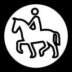 logo turismo ecuestre y caballos