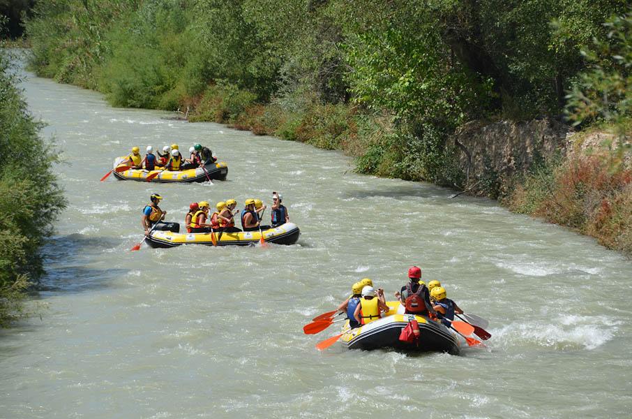 rafting genil- GUIA TA CORDOBA - OCIOAVENTURA CERROGORDO -