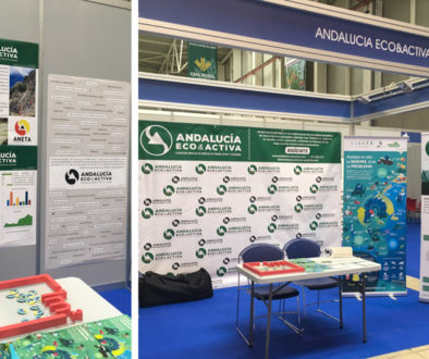 Stand Andalucía Eco&Activa en Tierra Adentro Jaén
