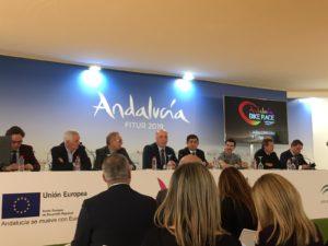 Mesa de presentación Córdoba en FITUR 2019