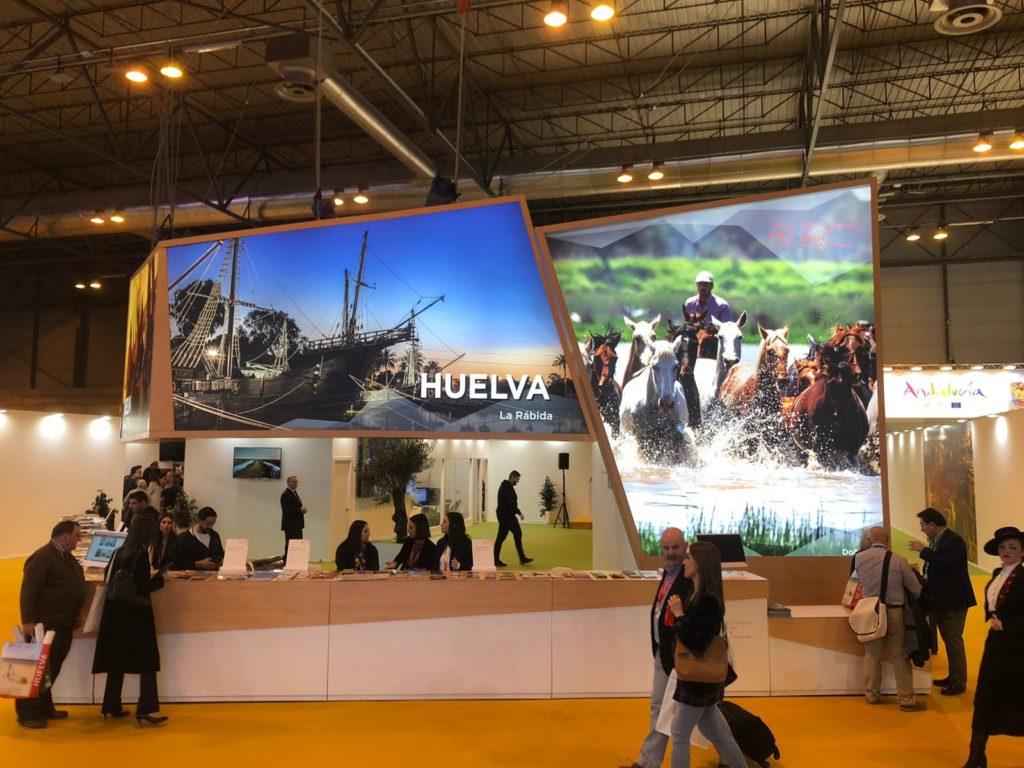 Stand de Huelva en FITUR 2019