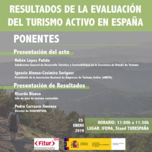 Presentación en Fitur Madrid 2019