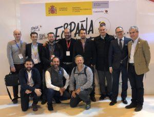 Foto de grupo en Fitur 2019