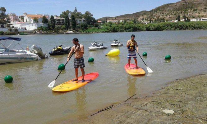 Paddle Surf en la costa de Huelva