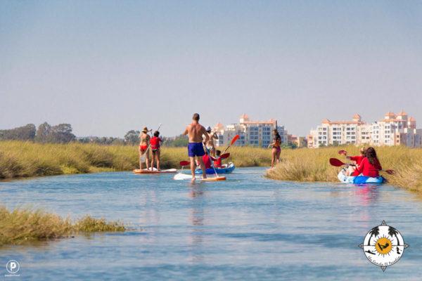 Paddle en Isla Canela