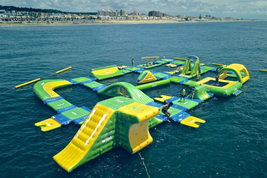 Parque acuático flotante Ocean Sea Park