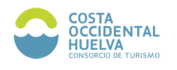 Logotipo de la costa occidental de Huelva