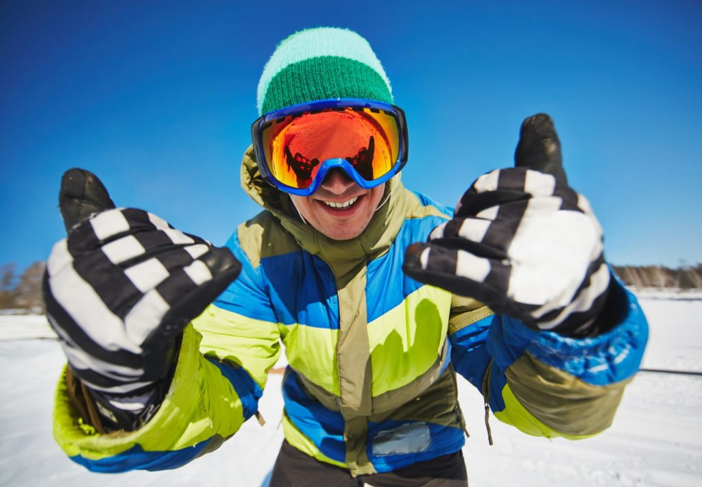 prueba de formación conjunta esquí