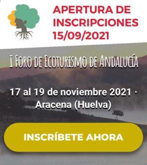 Inscripción I Foro Ecoturismo Andalucía